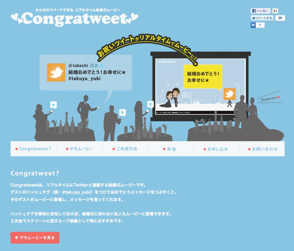 Congratweet Top